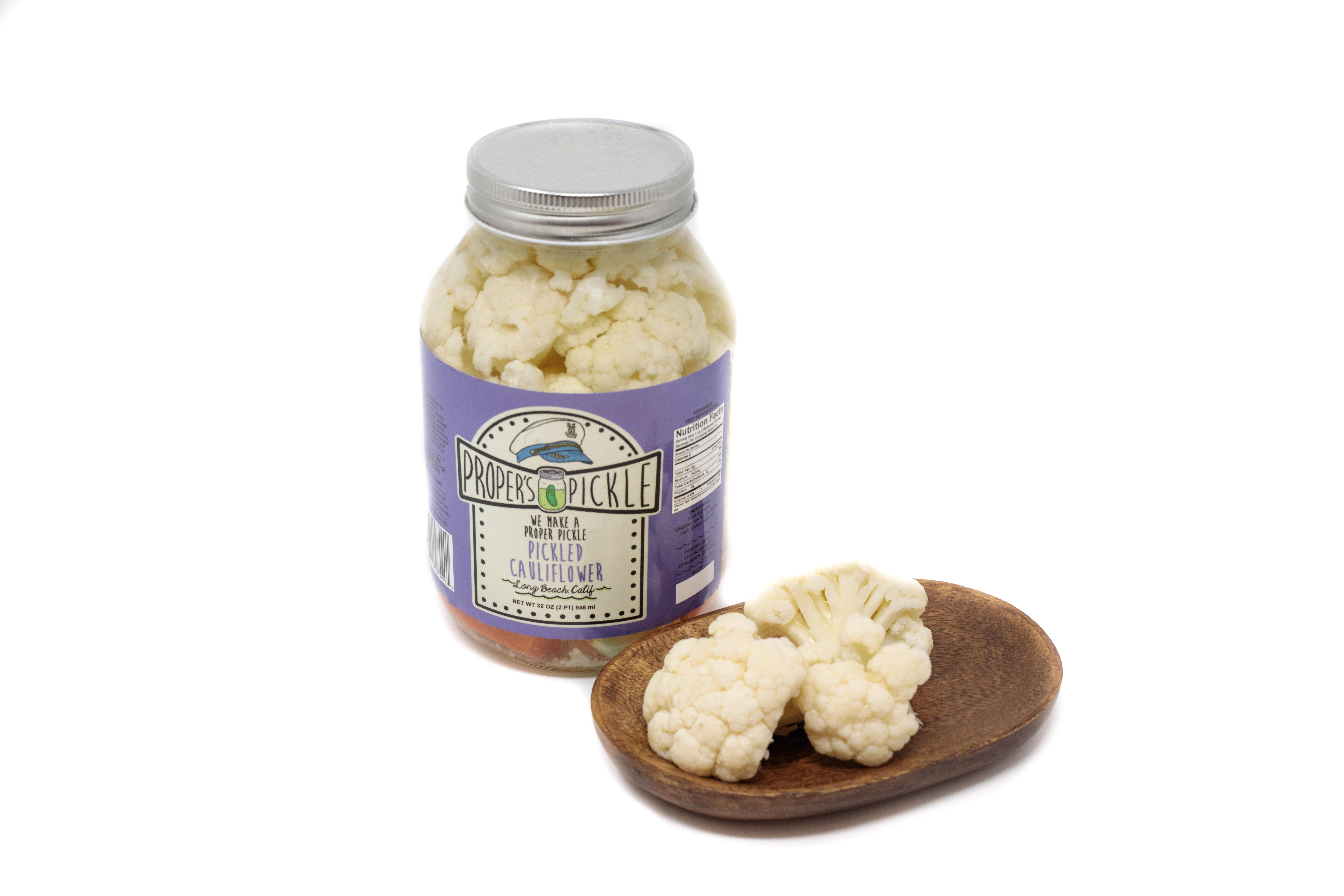 Proper's Pickled Cauliflower 32 oz
